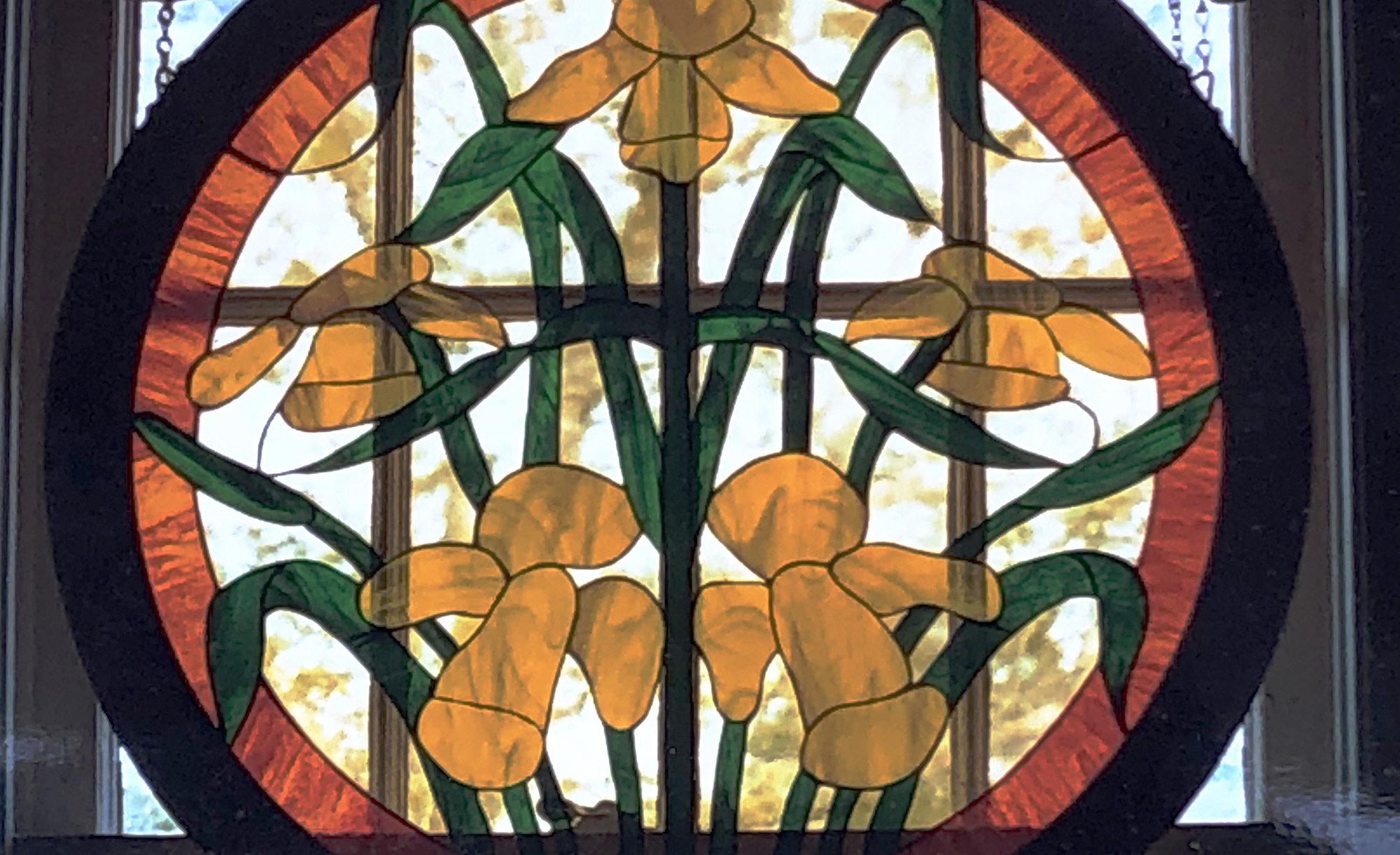 Stained Glass Passion, Built-in Panels
