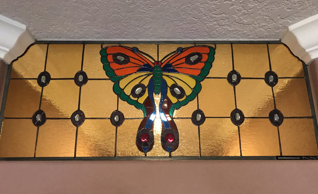 Butterfly (Stained Glass Passion), Transom
