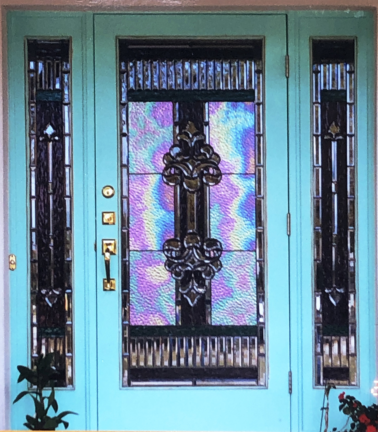 Stained Glass Passion, Entry Door