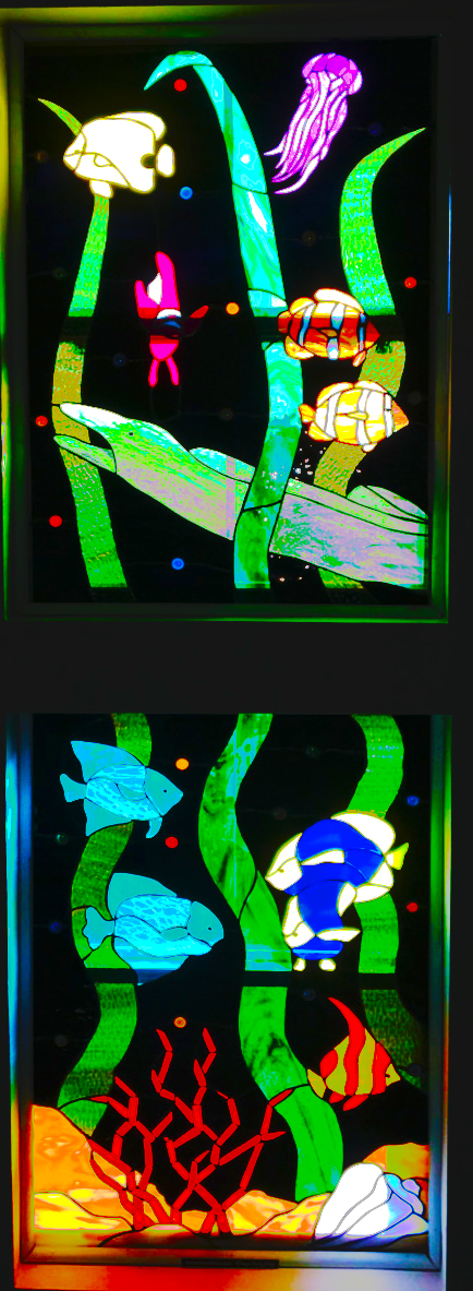 Stained Glass Passion, Fish