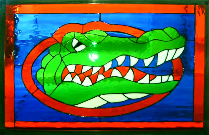 Stained Glass Passion, Gator Panel
