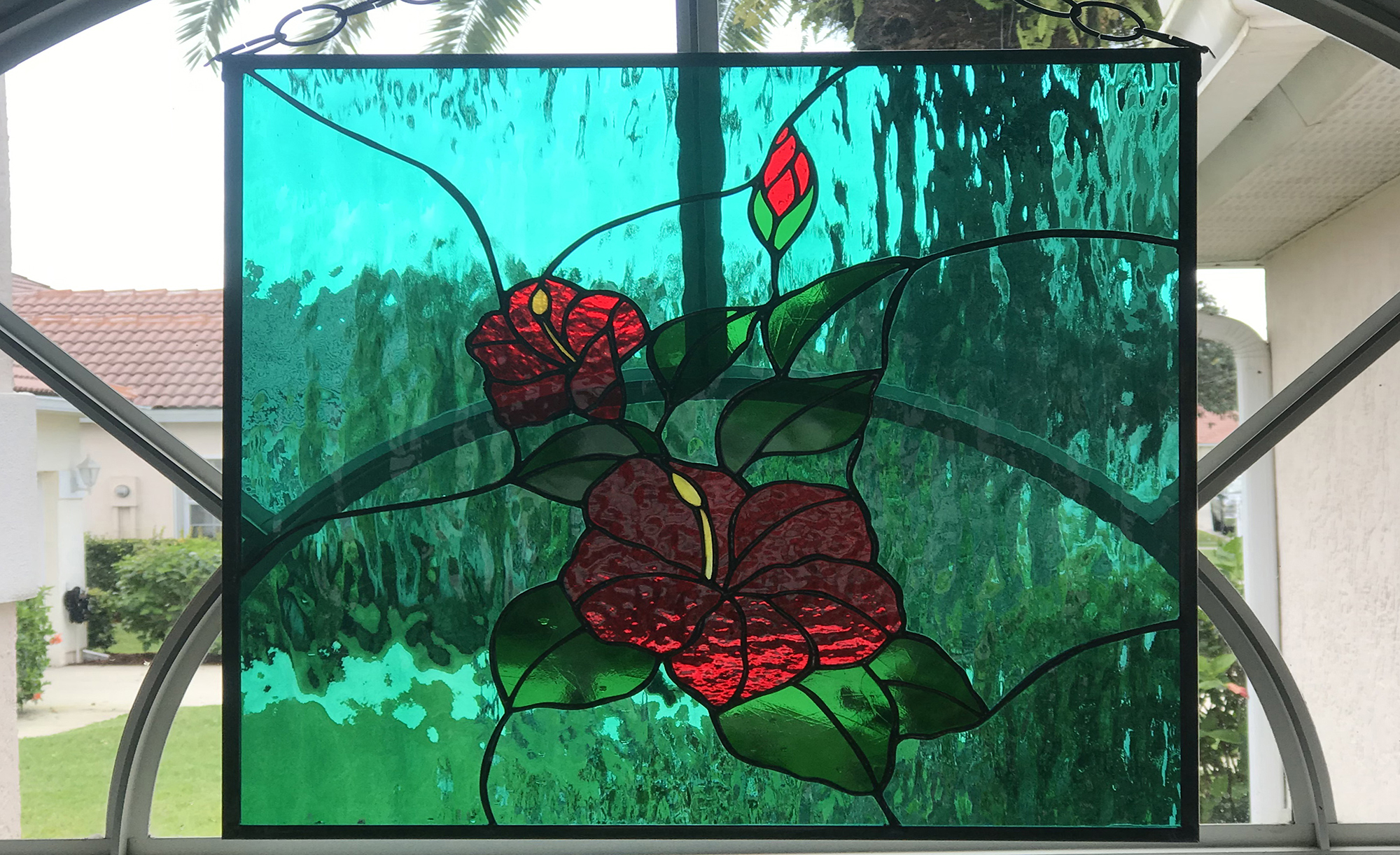 Stained Glass Passion, Freehanging Panels