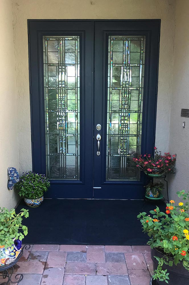 Entry Doors, Stained Glass Passion Vero Beach, Florida