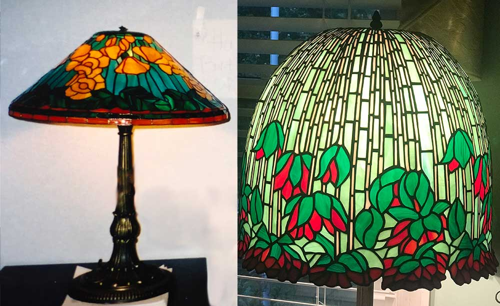Lamps, lamp repair, Stained Glass Passion